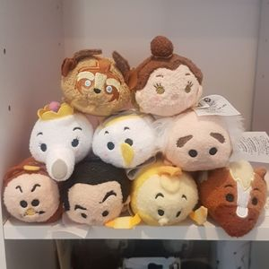 Disney Tsum Tsum Beauty and the Beast Mini Plush